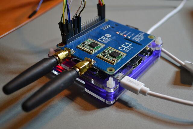 Gateway (receiver) device